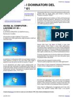 Guida al Computer - Lezione 61 - Il Sistema Operativo - Il Desktop Parte 3
