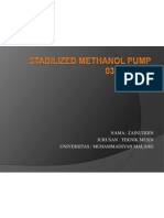 Persentasi Stabilized Methanol Pump
