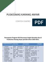 PUSKESMAS KARANG ANYAR ( Fakultas Kedokteran Universitas Lampung )