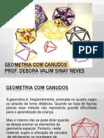 Geometria Com Canudos