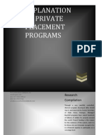 Private Placement Platform