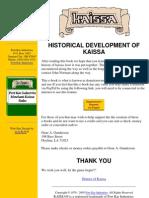 History of Kaissa