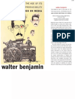 Walter Benjamin - The Work of Art in the Age of Its Technological Reproducibility and Other Writings on Media