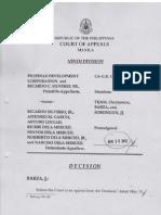 Pilipinas Development Corporation - Silverio Sr. vs Silverio Jr.