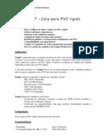 Adesivo PVC