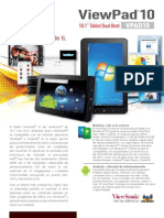 ViewPad 10 Datasheet Low Res Spanish LA