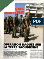 Les  francais debarquent + 6REG,RAIDS N°54,1990