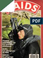 Les plongeurs du REG,RAIDS N°13,1987.júni