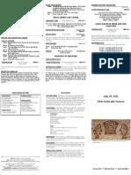 Bulletin - 20120729