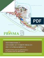 Inversiones y Dinamicas Territoriales Centroamerica PRISMA 2012
