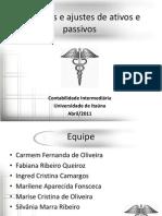 Apres Provisoes 20111S 3P