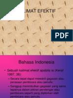 Kalimat efektif revisi