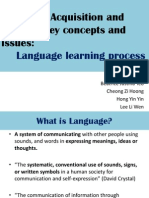 Language Learning Process in Early Childhood