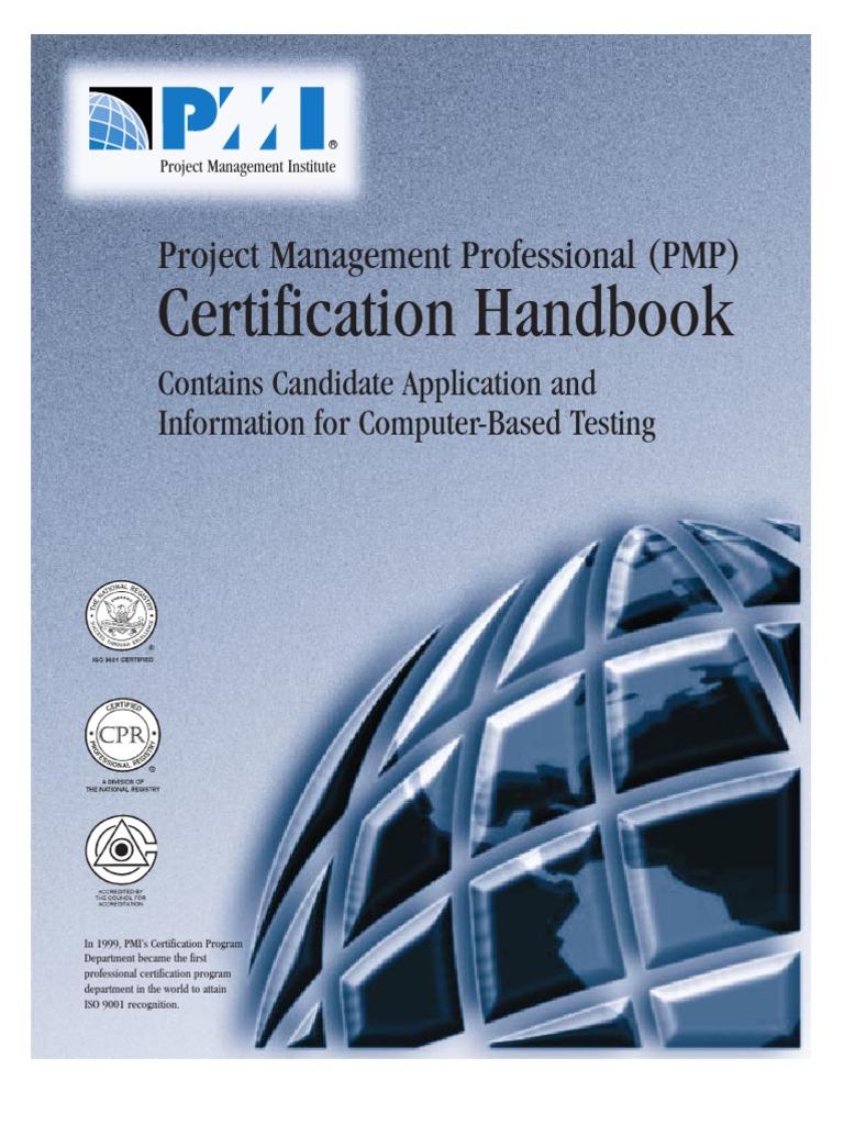 Pmp handbook project management professional professional pmp handbook project management professional professional certification 1betcityfo Choice Image