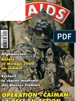 Operation Caiman + la chaine medicale,RAIDS N°310,2012.márc