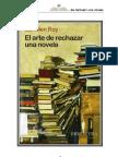 Roy, Camilien - El Arte de Rechazar Una Novela