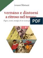 Giovanni Mattazzi-Verbano e Dintorni- Indice-Prefazione e Capp. D'Annunzio e D'Azeglio