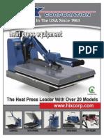 Hix HTM (Heat Transfer Machine) Booklet
