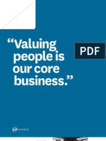 Valuing People is Our Core Business
