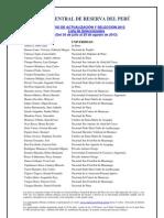 Caa 2012 Seleccionados