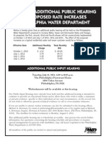 Additional Public Hearing Announcement