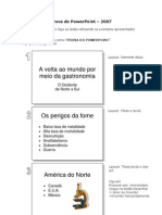 Prova Do PowerPoint PARTE 1