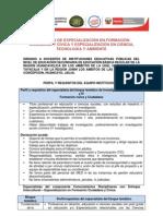 PROGRAMA DE ESPECIALIZACIÓN EN FORMACIÓN CIUDADANA Y CÍVICA