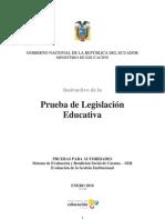 Legislacion Educativa Instructivo