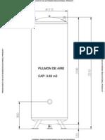 Pulmon de Aire 3.83 m3
