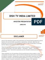 Dish TV Investor Presentation UBS