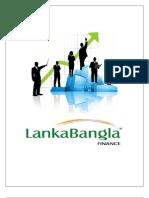 Report on Lankabangla Finance Limited by towhidul