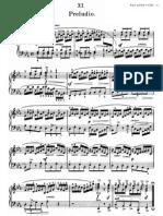 Bach Preludio e Flat