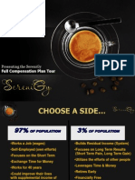 SereniGy Full Compensation Plan - great tasting coffee and tea with ganoderma (reishi)