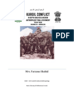 The Conflict of Kargil