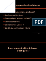 Rôle de la communication interne