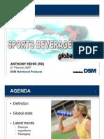 Sports Beverages Global Trends