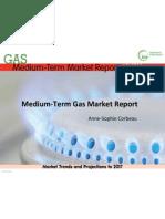 IEA 2012 Medium-Term Gas Market Report - slide presentation