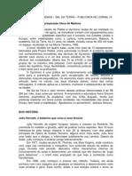 MATÉRIA ENCOMENDADA - SAL DA TERRA - JORNAL OI