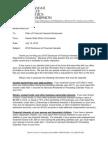 2012 Memorandum to Filers of Public Financial Disclosure Statements