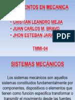 Sistemas Mecanicos Ejes y Levas