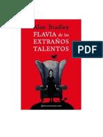 Flavia de los extraños talentos