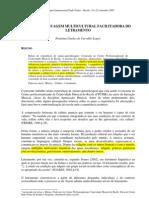 MÚSICA_LINGUAGEM MULTICULTURAL FACILITADORA DO LETRAMENTO (PAULO FREIRE)