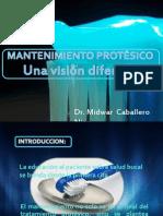 MANTENIMIENTO PROTESICO