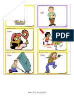 Phase 1 Verbs Cards
