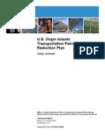 NREL, U.S. Virgin Islands Transportation Petroleum Reduction Plan, 9-2011