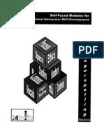 MRID Self Paced Modules - Fingerspelling