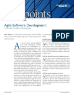 Viewpoint Agile Software Development