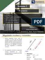 Fisica I - Sem2 - Vectores