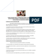 CARACTERIZACIÓN Y CONSIDERACIONES GENERALES  DE APOYO PARA PADRES Y APODERADOS EN LAS ETAPAS EVOLUTIVAS DE NUESTROS NIÑOS