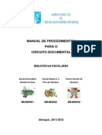 Capa Do Manual de Procedimentos